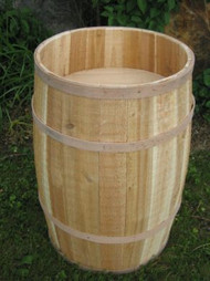 Barrel - False Bottom Cedar barrel