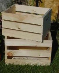 Wood Crate - Small