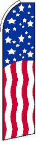 Stars and Stripes Tall Flag