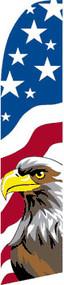 American Eagle Tall Flag