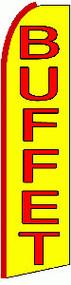 Buffet Tall Flag