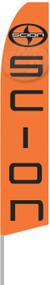 SCION Orange Tall Flag