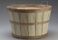 Bushel Basket - Natural Wood