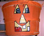 Half Bushel Basket - Halloween design