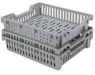 10lb Grey Produce Lug Container Bin