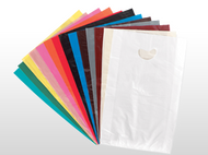 Color Merchandise Bag 9x12 w/Die-cut handle