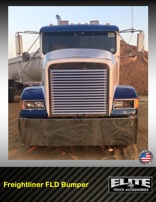 Chrome Bumpers For Fld 120 : Freightliner bumper fld elite truck accessories