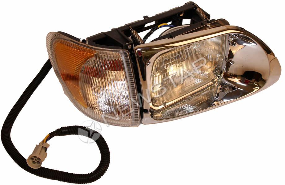 international 9100  9200  9400  u0026 9900 headlight assembly