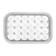 Rectangular Pearl LED White Back Up Light