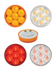 2.5″ Round Pearl LED Marker Light