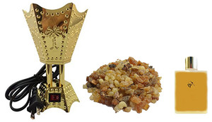 Frankincense & Myrrh Complete Package (Resin, Burner and Oil)
