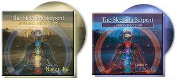 Never get off-track during your meditations again! Let Naazir Ra guide you through your morning and evening meditations and get the results you deserve!  The Sleeping Serpent: Morning & Evening Guided Meditations  (Double CD Set)  *Enhanced with proven visualizations  TARGET OBJECTIVES  You will:  -           Release of deep rooted negativity  -           Experience more energy  -           Experience less stress and anxiety  -           Have deeper more productive sleep  -           Experience more joy and feelings of wellbeing  -           Enjoy more confidence and assertiveness  -           Dispel gloom and depression  -           Enjoy greater decisiveness  -           Experience greater health and vitality  -           Boost your mental clarity  * For best results, follow the instructions on the CD case.