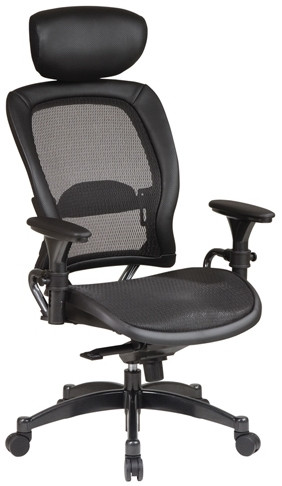 Premium Matrix Mesh Office Chair with Headrest [27876] -1
