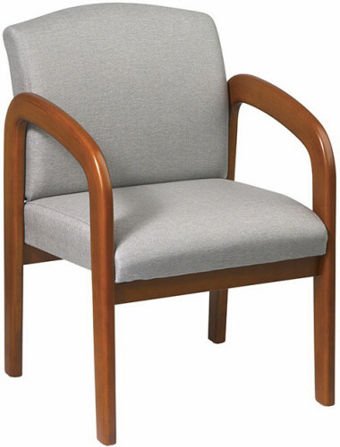 office guest chair with multi wood finish wd380 1