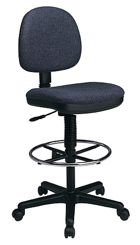 Office Star Lumbar Support Drafting Chair DC640 1