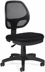 OTG Armless Mesh Back Task Chair [11642] -1