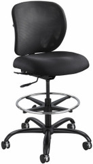 Safco Vue 24/7 Mesh Drafting Stool [3394BL] -1