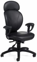 Global AZEO Ergonomic Leather Chair [2050L] -1