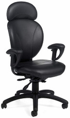 Global AZEO Ergonomic Leather Chair [2050L] -1