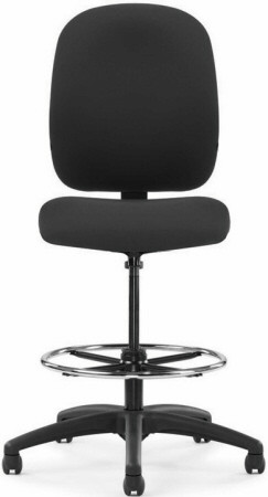 Allseating Presto Series Big and Tall Drafting Chair [52930] -1