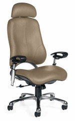 Executive Leather Designer Office Chair [4518L-3] -1
