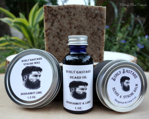 Burly Bastard Beard & 'Stache Oil