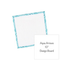 "Aqua Arrows 10"" Design Board by Lori Holt"