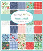 Moda Fabric Precuts - Charm Pack - Hazelwood by One Canoe Two