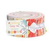 Moda Fabric Precuts Jelly Roll - Sundrops by Corey Yoder