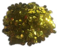 1/2 Cup Foil Confetti - Foil Gold - 1cm Circles
