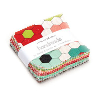 Moda Fabric Precuts - Mini Charm Pack - Handmade by Bonnie & Camille