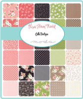 Moda Fabric - Olive's Flower Market - Lella Boutique - Fat Eighth Bundle