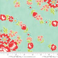 Moda Fabric - Handmade - Bonnie & Camille - Aqua #55140-12
