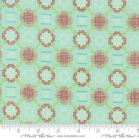 Moda Fabric - Handmade - Bonnie & Camille - Aqua #55144-12