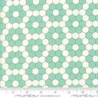 Moda Fabric - Handmade - Bonnie & Camille - Aqua #55148-24