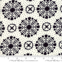 Moda Fabric - Handmade - Bonnie & Camille - Black Cream #55141-17