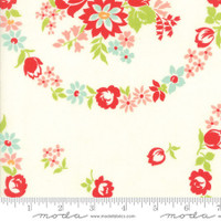 Moda Fabric - Handmade - Bonnie & Camille - Cream #55140-18