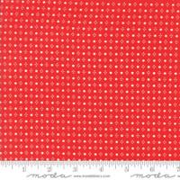 Moda Fabric - Handmade - Bonnie & Camille - Red #55143-11