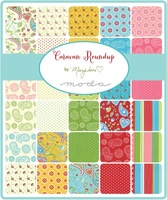 Moda Fabric Precuts Layer Cake - Caravan Roundup