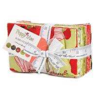 Moda Fabric Precuts Fat Eighth Bundle - Poppy Mae by Robin Pickens