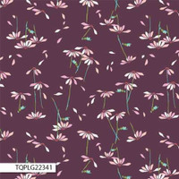 Art Gallery Fabrics - Playground by Amy Sinibaldi - He Loves Me Plum #PLG-22341