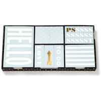 Kate Spade NY Sticky Note Set - Hello