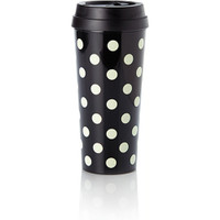 Kate Spade NY le pavilion thermal mug - black and white