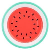 Paper Plate 12 Set - Watermelon