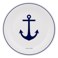 Paper Plate 12 Set - Anchor