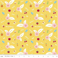 Riley Blake Fabric - Sweet Orchard Sedef Imer of Down Grapevine Lane - Yellow #C5481