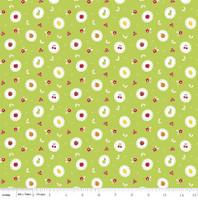 Riley Blake Fabric - Sweet Orchard Sedef Imer of Down Grapevine Lane - Green #C5482