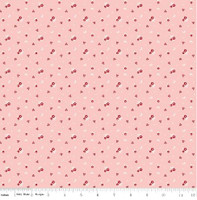 Riley Blake Fabric - Sweet Orchard - Sedef Imer of Down Grapevine Lane - Pink #C5483