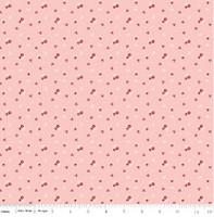 Riley Blake Fabric - Sweet Orchard - Sedef Imer of Down Grapevine Lane - Pink #C5483