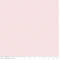 Riley Blake Fabric - Sweet Orchard Sedef Imer of Down Grapevine Lane - Pink #C5485
